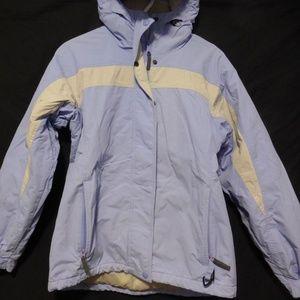 VTG Columbia Vintage light blue and gray jacket,